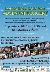 pohádkově kouzelný koncert hvězd pro děti z dětských domovů - 2015