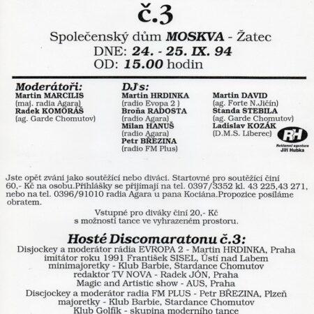 94 - Discomaratón č.3